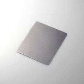 【代引不可】【エレコム】【ELECOM】アルミ蒸着シート層が美しく輝くメタリック【マウスパッド】MP-112BK