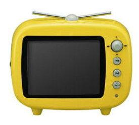 グリーンハウス 3.5インチ テレビ型デジタルフォトフレーム イエロー GHV-DF35TVY