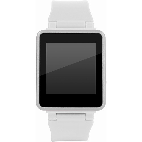 グリーンハウス 8GBメモリー内蔵、腕時計にもなるデジタルオーディオプレーヤー「kana Watch(カナ・ウォッチ)」 ホワイト GH-KANAWH-8WH