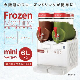 taiji UGOLINI フローズンマシン mini-2 6L×2 製品型番:MINI2