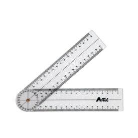 ゴニオメーター(プラスチック角度計)角度計 計測 角度測定 計測器 アーテック 9724