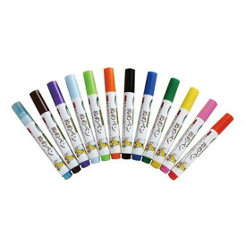 ぬのペン 12本セット 布用ペン オリジナル ペイント デコ ファブリックペン 工作 お絵かき 手作り ハンドメイド エポックケミカル FMS-1300