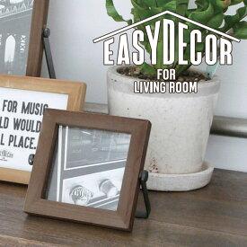 EASY DECOR フォトフレーム スクエア 写真立て 額縁 フレーム 飾り オシャレ 写真フレーム EASY DECOR A107