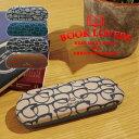 BOOK LOVERS メガネケース スリム おしゃれ かわいい コンパクト 眼鏡ケース 人気 メンズ レディース カジュアル BOOK LOVERS A246