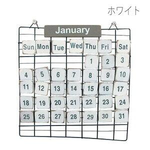 PRIMITIVECALENDARSカレンダー万年カレンダーワイヤーフレームウッドおしゃれカッコイイ新年新年度インテリアスパイスTW710