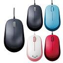 マウス 有線マウス 3ボタン BlueLED有線マウス ケーブル長1.5m 挿すだけ一発接続 3ボタンマウス エレコム M-Y8UB