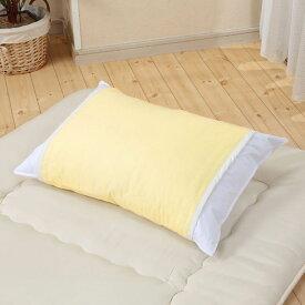 枕カバー まくらカバー クールでドライな清涼ガーゼ枕カバー イージック®仕様 三河木綿使用 快眠 熱帯夜 暑さ 快適な睡眠をサポート 富士パックス h824