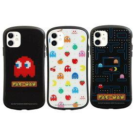 iPhone 11 iPhone XR 6.1インチ iPhone11 iPhoneXR 対応 ケース カバー パックマン i select ハイブリッドガラスケース ハイブリッド iPhoneケース キャラクター グルマンディーズ MPA-03
