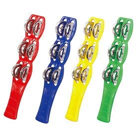 スティックタンバリン スティック タンバリン 楽器 おもちゃ オモチャ 玩具 音楽 ダンス カラオケ 盛り上げ 応援 リズム アーテック 145**