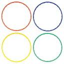 カラーフラフープ フラフープ 直径65cm 子供用 フラフープ キッズフラフープ 組み立て 輪 おもちゃ 玩具 スポーツ 運…