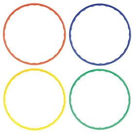 カラーフラフープ フラフープ 直径65cm 子供用 フラフープ キッズフラフープ 組み立て 輪 おもちゃ 玩具 スポーツ 運動 アーテック 145**