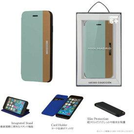【値下】VIVA MADRID iPhone 6Plus/Lucido(ルシード)/Sky Appeal(light Blue)(表面:マイクロファイバー)(裏面:ポリカーボネート) 製品型番:IP6PSBS-LUCLBU
