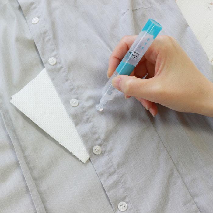 衣類用シミとり剤 無香料 しみ取りペン シミ抜き しみ抜き 洗浄 洗濯 ペン型 携帯 コンパクト エポックケミカル EPOCH-001