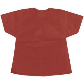 衣装ベース S シャツ 茶 トップス オリジナル 運動会 イベント コスプレ 衣装 仮装 変装 グッズ 小道具 アーテック 2190