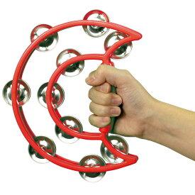 ダンスタンバリン 赤 タンバリン 楽器 おもちゃ 玩具 オモチャ リズム 音楽 演奏 アーテック 4197