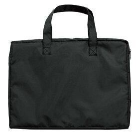 A4ワイドバッグ 黒 かばん 鞄 手提げ 通学 お稽古 習い事 教科書 資料 ファイル 収納 学校 子供 アーテック 10341