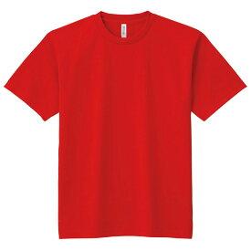 DXドライTシャツ M レッド 010 半袖 メッシュ Tシャツ 大人サイズ 男女兼用 普段着 運動 ダンス アーテック 38479