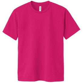 DXドライTシャツ L ホットピンク 146 半袖 メッシュ Tシャツ 大人サイズ 男女兼用 普段着 運動 ダンス アーテック 38496