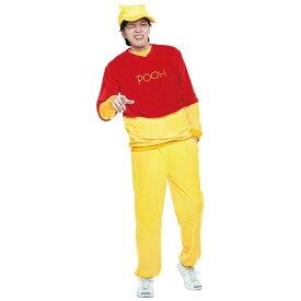 公式 正規ライセンス Costume Adult Pooh ディズニー くまのプーさん ハロウィン コスプレ コスチューム メンズサイズ 衣装 仮装 変装 RUBIES JAPAN 37190