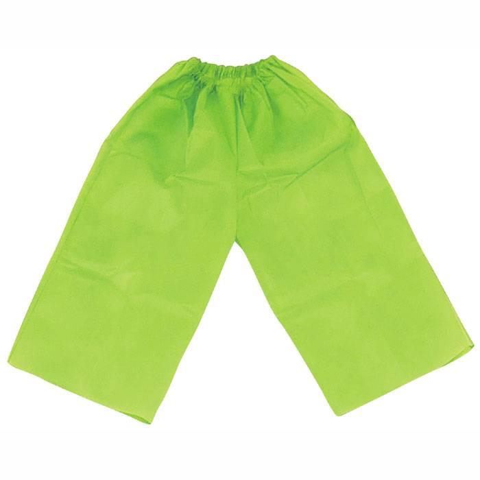 衣装ベース C ズボン 黄緑 パンツ ボトムス 運動会 イベント 衣装 仮装 コスチューム 競技 遊戯 ダンス 幼児用 アーテック 4283