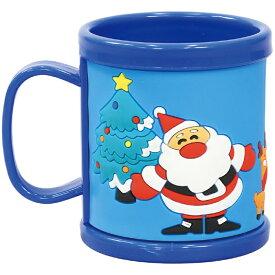 ラバーコップ サンタ Xmas クリスマス サンタクロース マグカップ 子供用 日用品 雑貨 パーティー プレゼント アーテック 77687