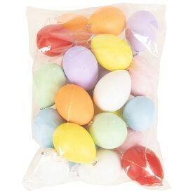 カラフルエッグセット 24個 たまご 卵 装飾 DP デコレーション グッズ 雑貨 小道具 玩具 パーティー イースター クリアストーン 4560320884439
