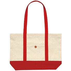 カラフルトートバッグ レッド ショッピングバッグ 帆布バッグ 家庭科 裁縫 縫製 オリジナル 作成 アーテック 4645