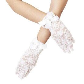 49052a8acc40 Magical Doll Premium レースグローブ Amelia white レース グローブ 手袋 セクシー ファッション コスプレ 仮装  変装 グッズ