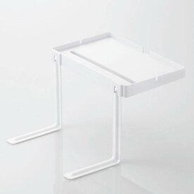 ベッドサイドスタンド 充電対応 タブレットスタンド スマホスタンド サイドテーブル 高さ調整可能 ホワイト エレコム TB-DSCHBEDWH