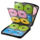 ブルーレイディスク対応 セミハードケース 160枚収納 CD DVD 収納 整理 メディアケース ブラック サンワサプライ FCD-…