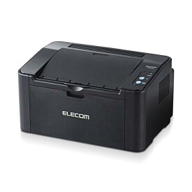 コンパクト モノクロレーザープリンター WiFi接続 PC・タブレット・スマホからワイヤレスでプリント ブラック エレコム EPR-LS01W