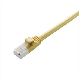 カテゴリー6対応 ツメ折れ防止LANケーブル 1m イエロー ギガビット・イーサネット 高速通信 RoHS指令準拠 エレコム LD-GPT/Y1/RS