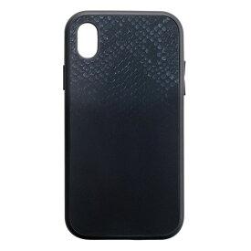 iPhone XR BZGLAM IJOY 360度衝撃吸収 スマホケース iPhoneケース 保護フィルム付 パイソン サンクレスト i32BBZ07
