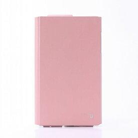 【値下】dtab Compact d-02H ディータブコンパクト ケース/カバー +U James One Sheet of Leather case ピンク LEPLUS LP-D02HLFJPK