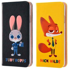 17cda32c83 iPhone6s/6 アイフォン ケース/カバー ディズニー ズートピア 手帳型ケース ポップアップ レイアウト RT-