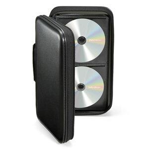 【あす楽】メディアを衝撃から保護するフレーム構造のPP製セミハードタイプのDVD・CDケース96枚収納ブラックサンワサプライFCD-WL96BK