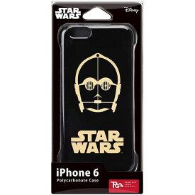 PGA STARWARS iPhone6用ハードケース 金箔押 C-3PO PG-DCS924C3