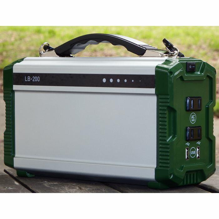 ポータブル蓄電池「エナジー・プロmini」 PIF LB-200