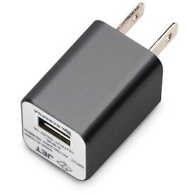 WALKMAN/スマートフォン用USB電源アダプタ 1A ブラック PGA PG-WAC10A01BK