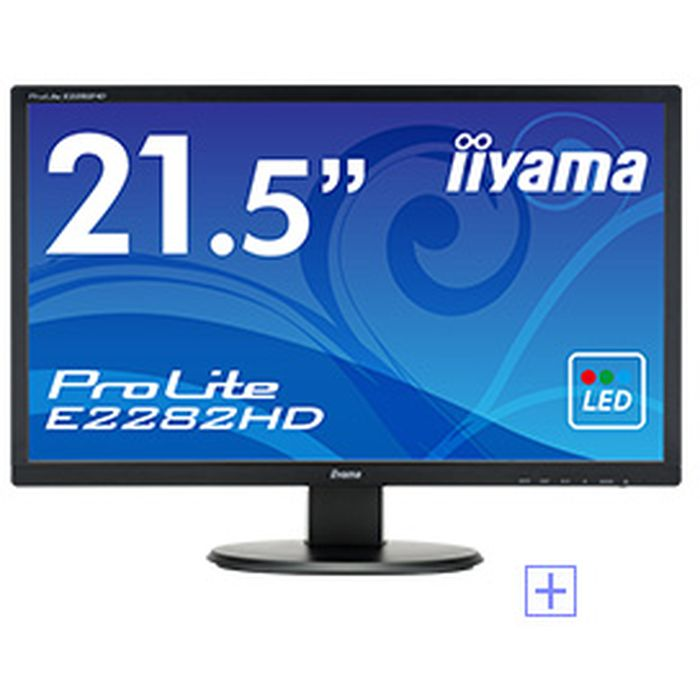 ProLite E2282HD 21.5型 WLEDバックライト搭載ワイド液晶ディスプレイ iiyama E2282HD-B1