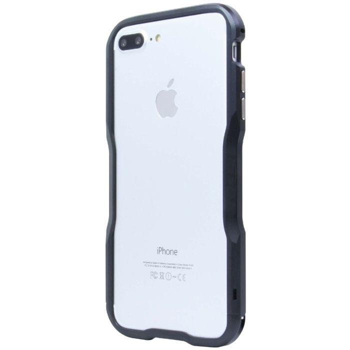 iPhone7Plus専用 アルミニウムバンパー ブラック 藤本電業 BPi7P-01BK