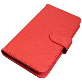 14b44f068d 汎用手帳ケースM(5.2inchサイズ) 赤 バウト BFC02MRD