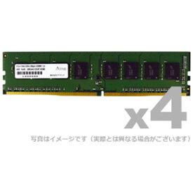 DDR4-2400 UDIMM 16GB 4枚組 ADTEC ADS2400D-16G4
