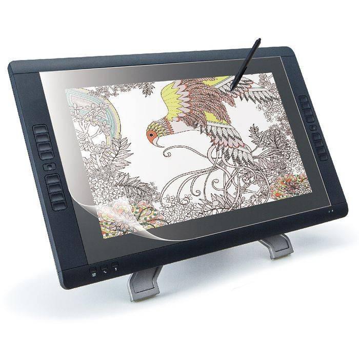 ワコム21.5インチ液晶ペンタブレット用ペーパーライクフィルム(反射防止) エレコム TB-WC22FLAPL