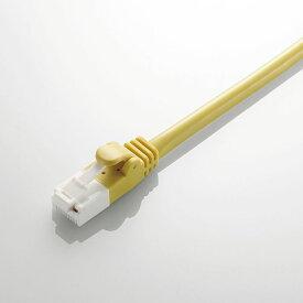 Cat6対応ツメ折れ防止LANケーブル 5m イエロー エレコム LD-GPT/Y5/RS