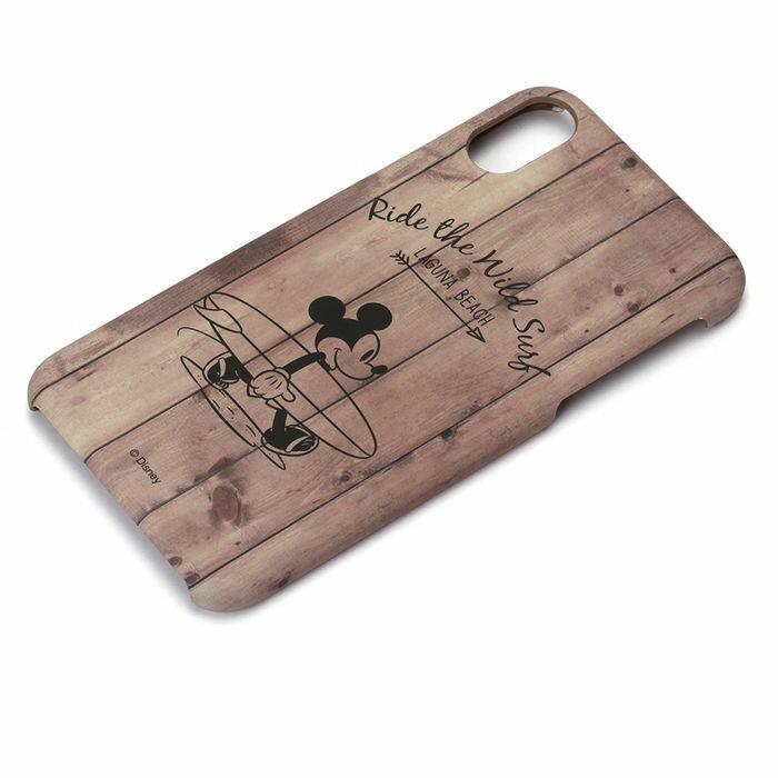 iPhoneX 用 ラバーコートケース ミッキーマウス Disney PGA PG-DCS296MKY