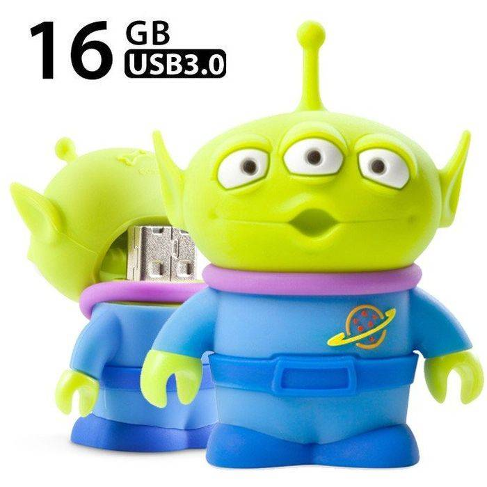 USB Driver3.0 高速 USB3.0メモリー 16GB トイ・ストーリー リトル・グリーン・マン Little Green Man Driver3.0 Bonecollection PJDR18081-16G