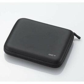 【エレコム】【ELECOM】[メモリーカード+タッチペン用ポケット]【電子辞書ケース】DJC-003NBK