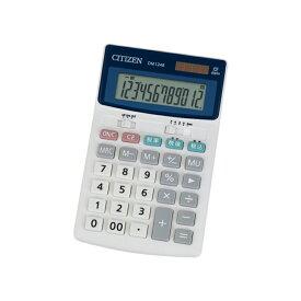 セミデスク型電卓(12桁表示) シチズン DM1248Q