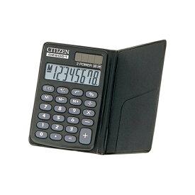 手帳サイズ電卓(8桁表示) シチズン DE8001Q